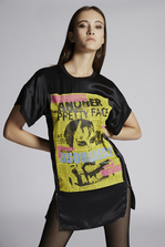DSQUARED2 Another Pretty Face T-Shirt Dress Dress Woman