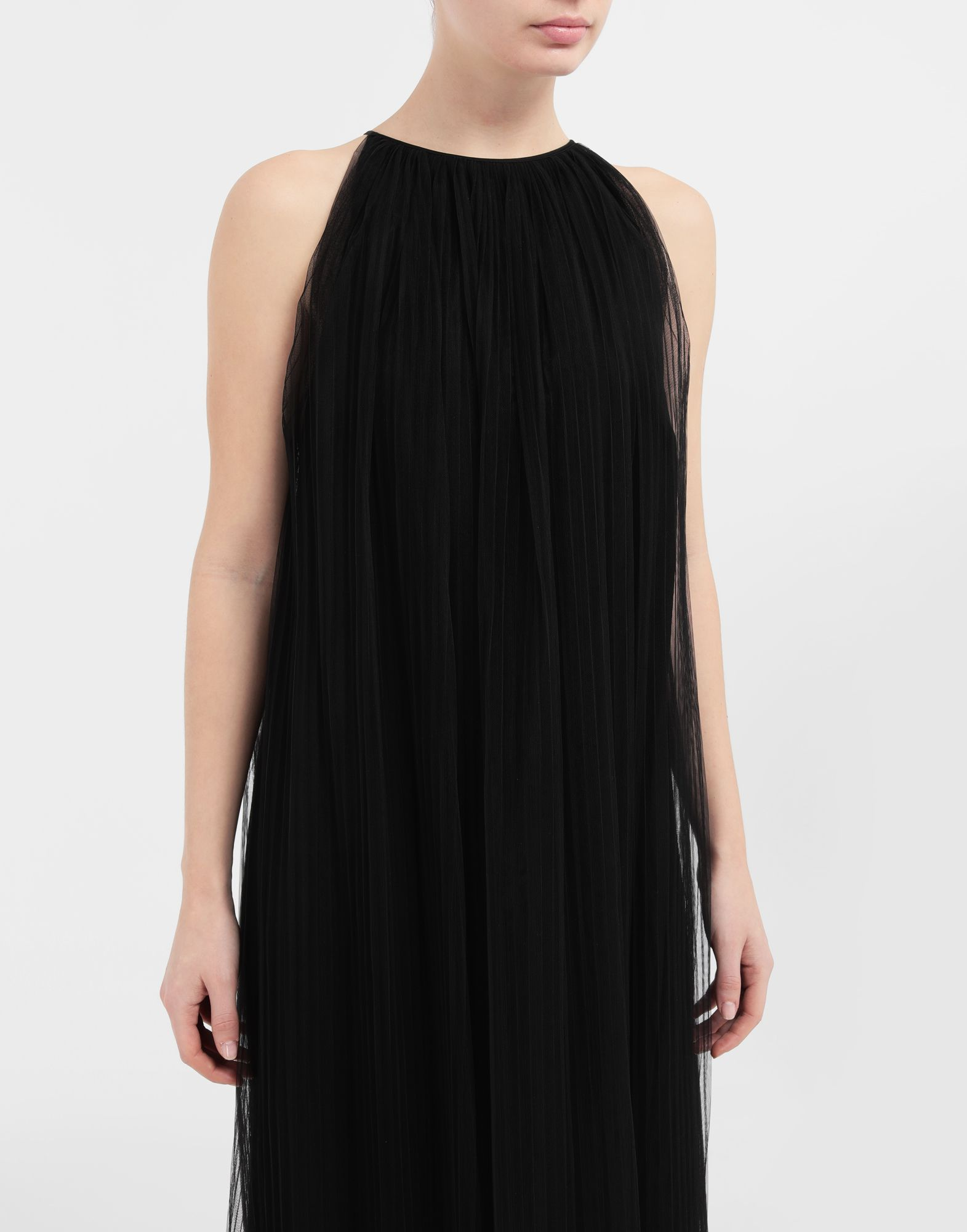MAISON MARGIELA Layered tulle midi dress 3/4 length dress Woman a