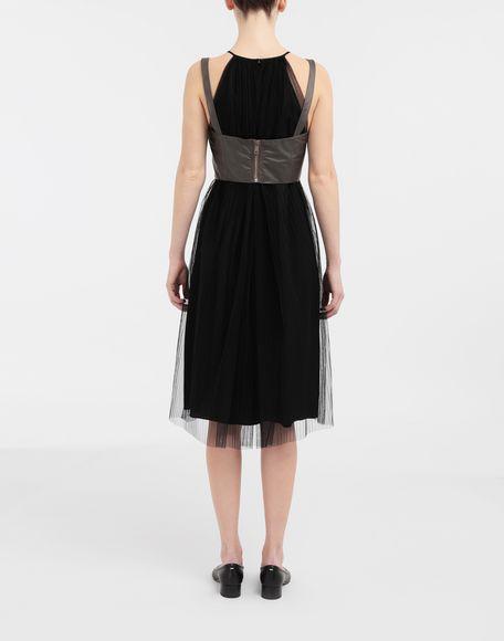 MAISON MARGIELA Layered tulle midi dress 3/4 length dress Woman e