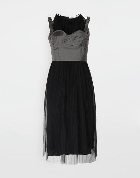 MAISON MARGIELA Layered tulle midi dress 3/4 length dress Woman f