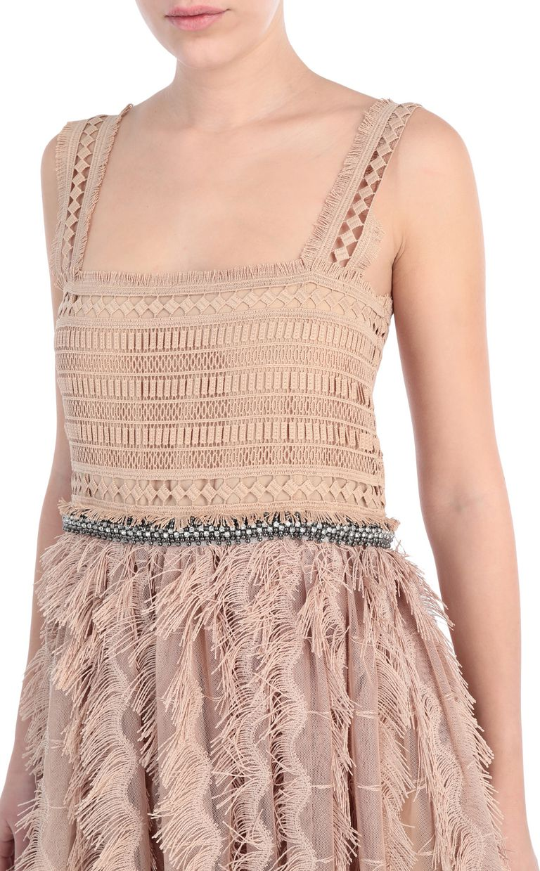 JUST CAVALLI Long macramé dress Long dress Woman e