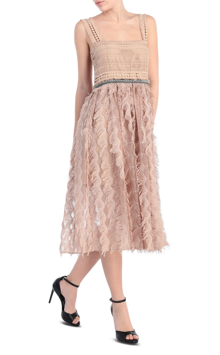 JUST CAVALLI Long macramé dress Long dress Woman f