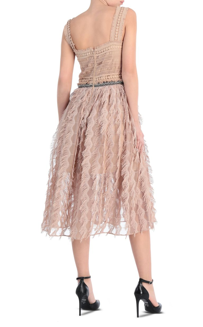 JUST CAVALLI Long macramé dress Long dress Woman r
