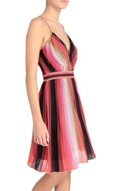 M MISSONI Dress Coral Woman - Front
