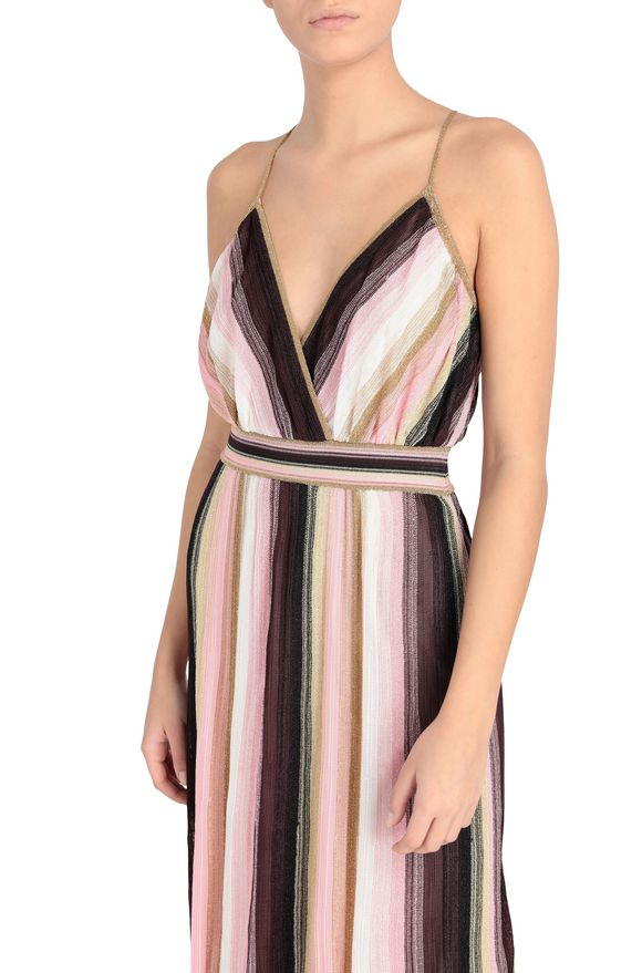 M MISSONI Длинное платье Для Женщин, Вид сзади
