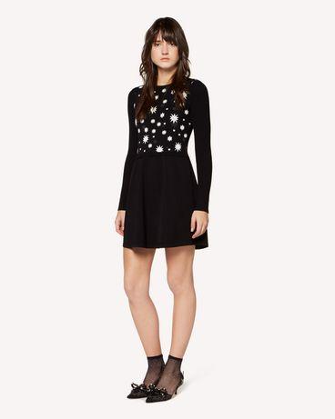 REDValentino RR3KDA19SXC 0NO Knit Dress Woman d