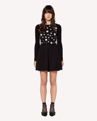 REDValentino RR3KDA19SXC 0NO Knit Dress Woman f