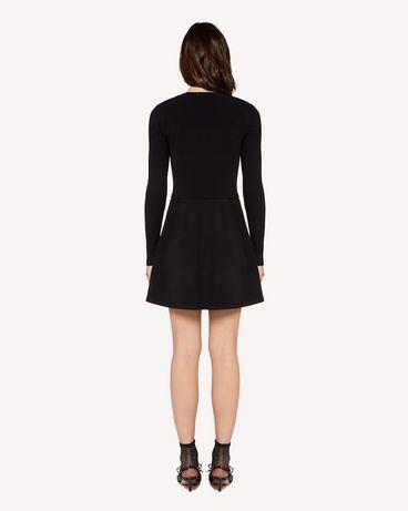 REDValentino RR3KDA19SXC 0NO Knit Dress Woman r