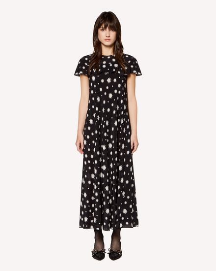 REDValentino Printed dress Woman RR3VAE95XKP 0NO f
