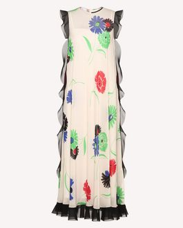 REDValentino Printed dress Woman RR3VAB30BDF 031 a