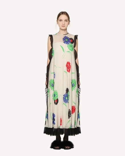 REDValentino Printed dress Woman RR3VAB30BDF 031 f