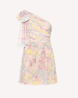 REDValentino Printed dress Woman RR0VAC15EIX GS7 a