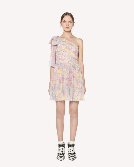 REDValentino Printed dress Woman RR3VAC00ZAJ 377 f