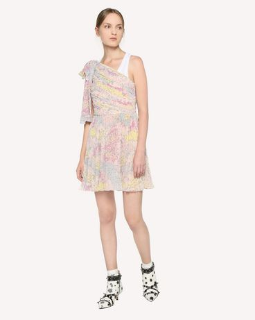 REDValentino RR3VAC00ZAJ 377 Printed dress Woman d