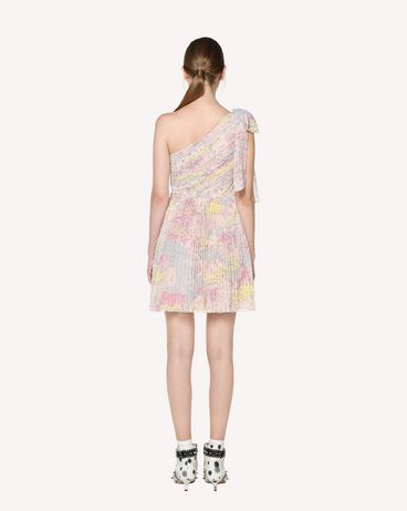 REDValentino RR3VAC00ZAJ 377 Printed dress Woman r