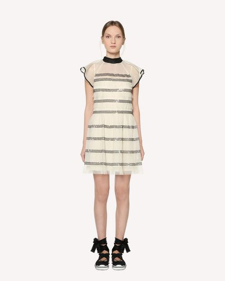 REDValentino Short dress Woman RR3VA01BCYB A03 f