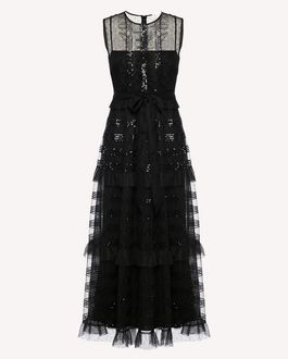 REDValentino Long dress Woman RR3VA01DHQY 0NO a