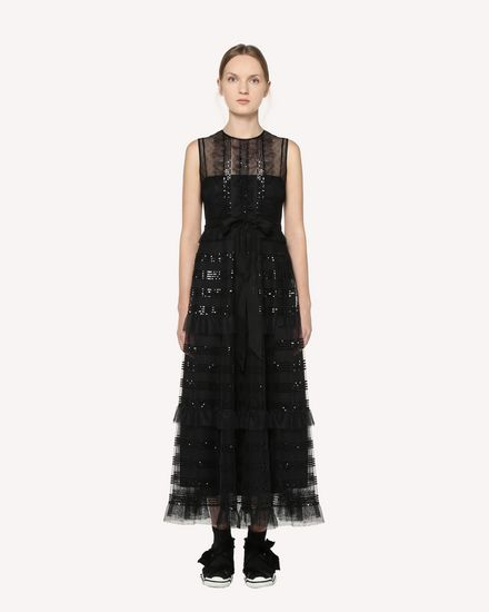 REDValentino Long dress Woman RR3VA00HCYB 0NO f