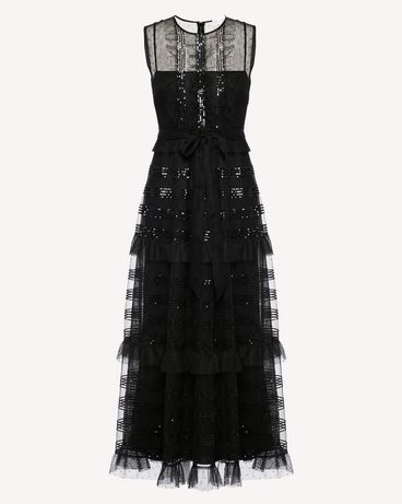 REDValentino RR3VA00HCYB 0NO Long dress Woman a