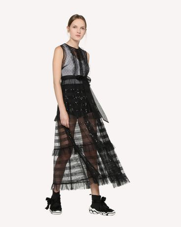 REDValentino RR3VA00HCYB 0NO Long and midi dresses Woman d