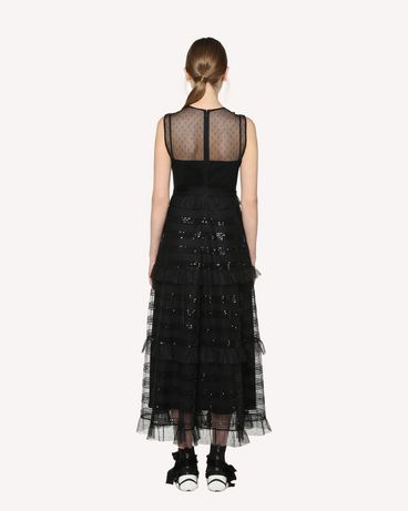REDValentino RR3VA00HCYB 0NO Long and midi dresses Woman r