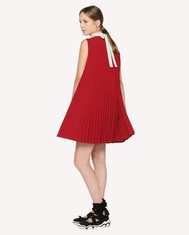 REDValentino Pleated Techno Fluid dress