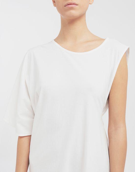 MM6 MAISON MARGIELA Asymmetrical jersey midi dress 3/4 length dress [*** pickupInStoreShipping_info ***] a