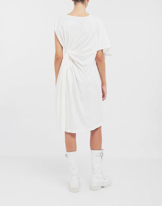MM6 MAISON MARGIELA Asymmetrical jersey midi dress 3/4 length dress [*** pickupInStoreShipping_info ***] e