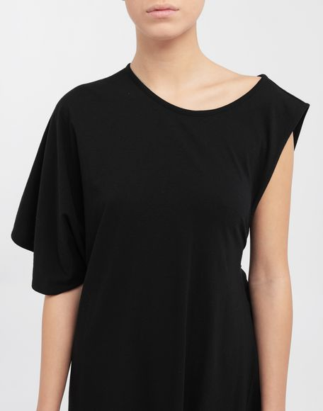 MM6 MAISON MARGIELA Asymmetrical jersey midi dress 3/4 length dress Woman a