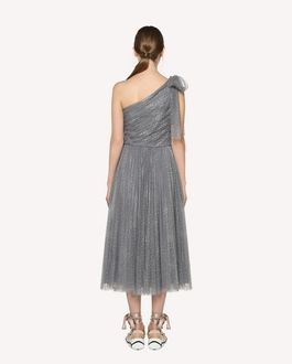 REDValentino One-shoulder tulle dress with bow detail