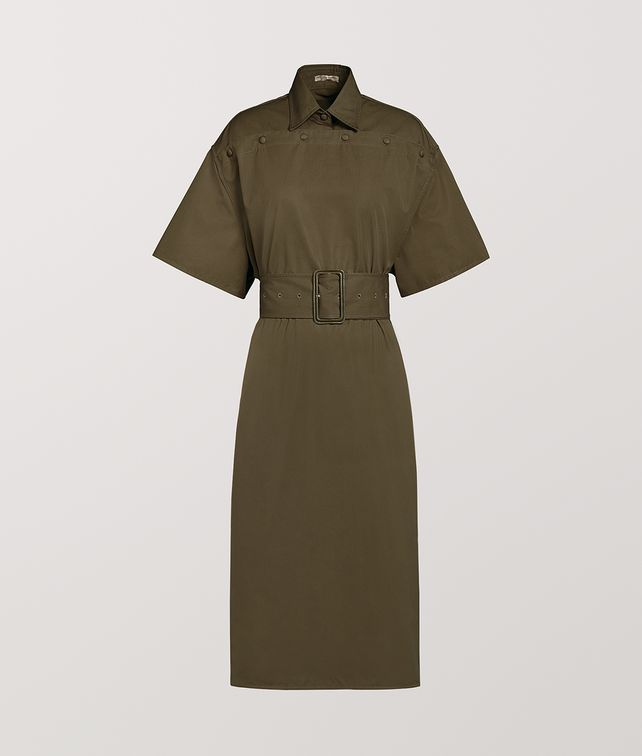 BOTTEGA VENETA DRESS IN COTTON Dress Woman fp