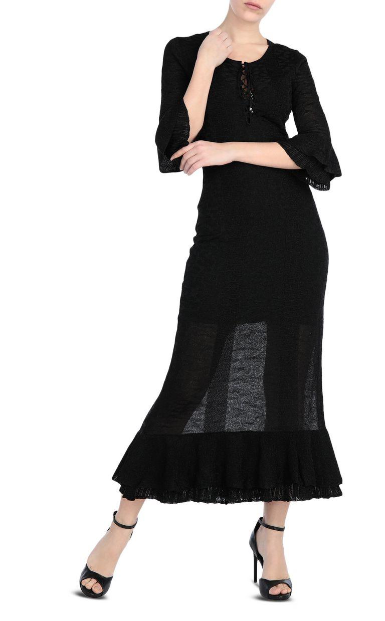 JUST CAVALLI Long dress in lurex Long dress Woman d