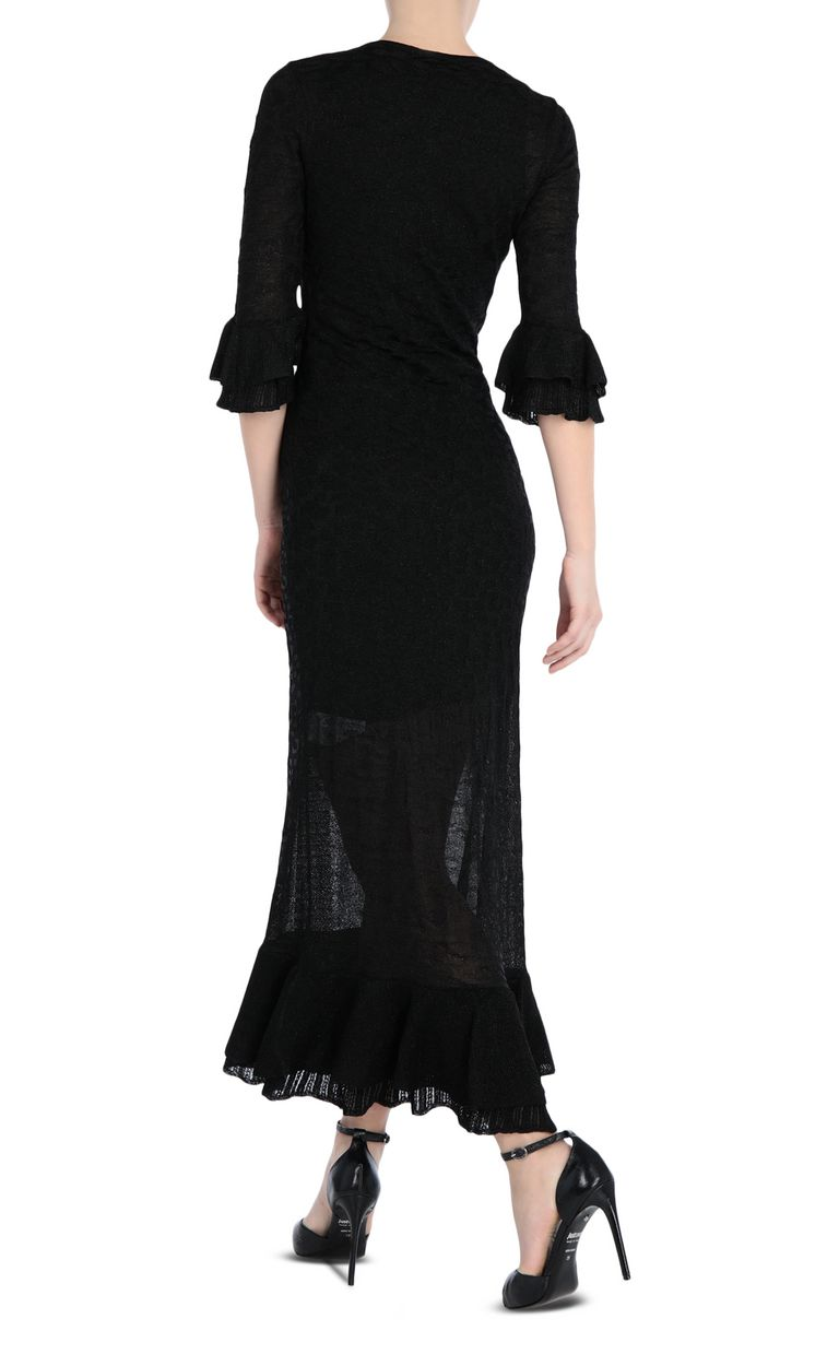 JUST CAVALLI Long dress in lurex Long dress Woman r