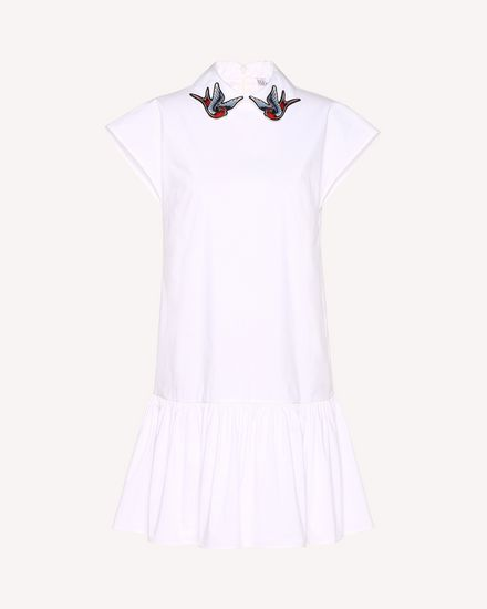 REDValentino Short dress Woman RR0VAD85LUN 001 a