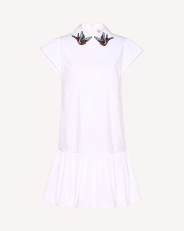 REDValentino RR0VAD85LUN 001 Short dress Woman a