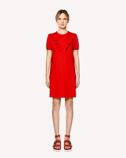 REDValentino Short dress Woman RR0MJ01IHDU MM0 f