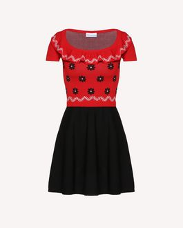 REDValentino Short dress Woman RR0VAE650F1 MM0 a