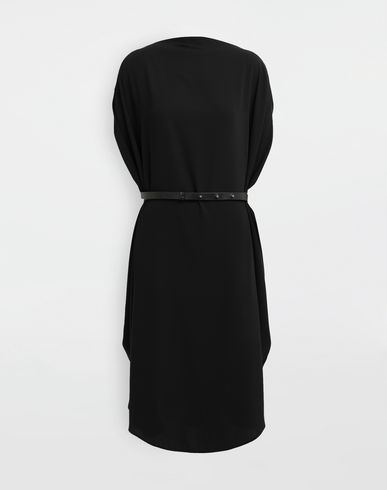 MM6 MAISON MARGIELA Circle belted dress 3/4 length dress [*** pickupInStoreShipping_info ***] f