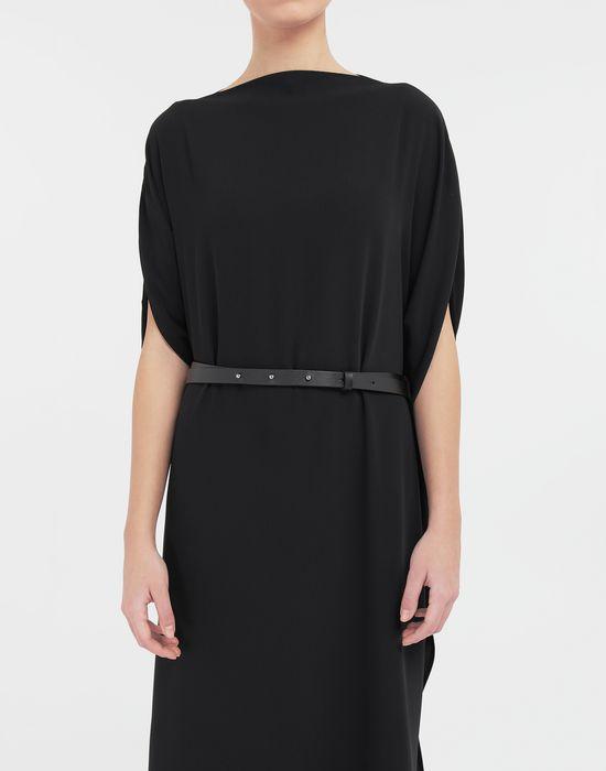 MM6 MAISON MARGIELA Circle belted dress 3/4 length dress [*** pickupInStoreShipping_info ***] a