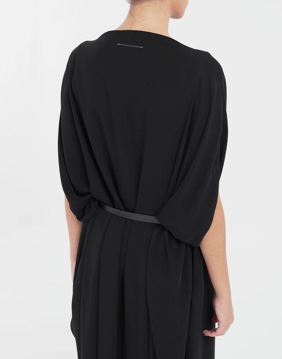 MM6 MAISON MARGIELA Circle belted dress 3/4 length dress [*** pickupInStoreShipping_info ***] b