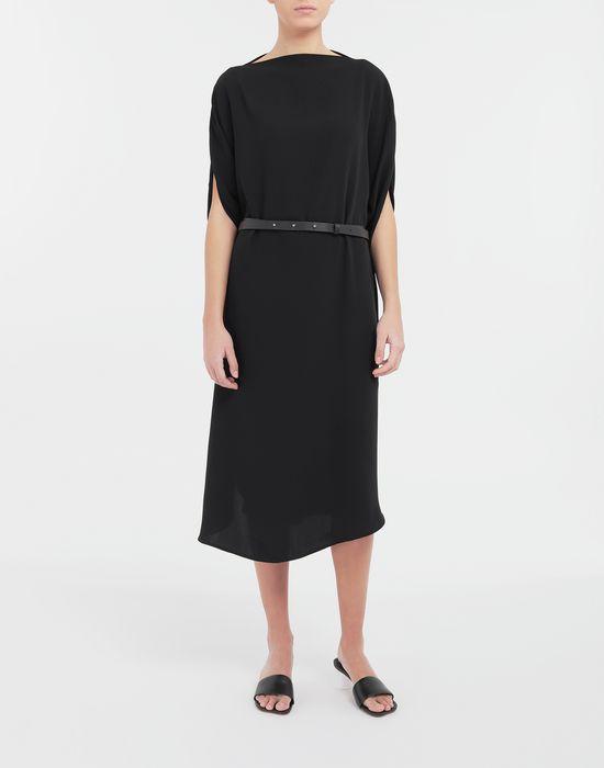 MM6 MAISON MARGIELA Circle belted dress 3/4 length dress [*** pickupInStoreShipping_info ***] r