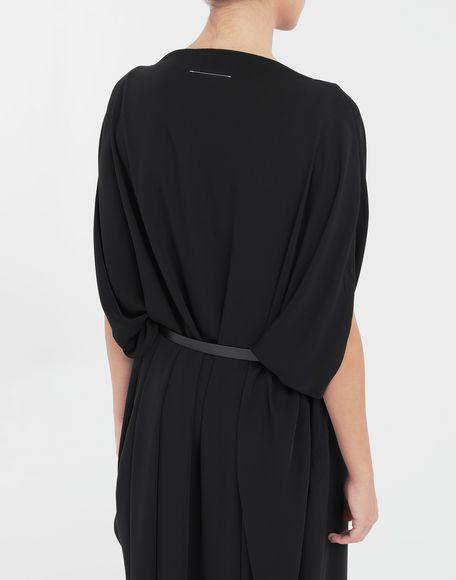MM6 MAISON MARGIELA Circle belted dress 3/4 length dress Woman b