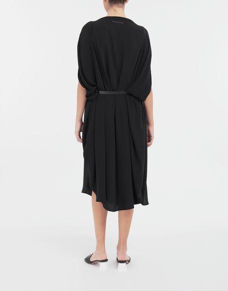 MM6 MAISON MARGIELA Circle belted dress 3/4 length dress Woman e