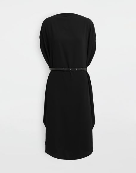 MM6 MAISON MARGIELA Circle belted dress 3/4 length dress Woman f