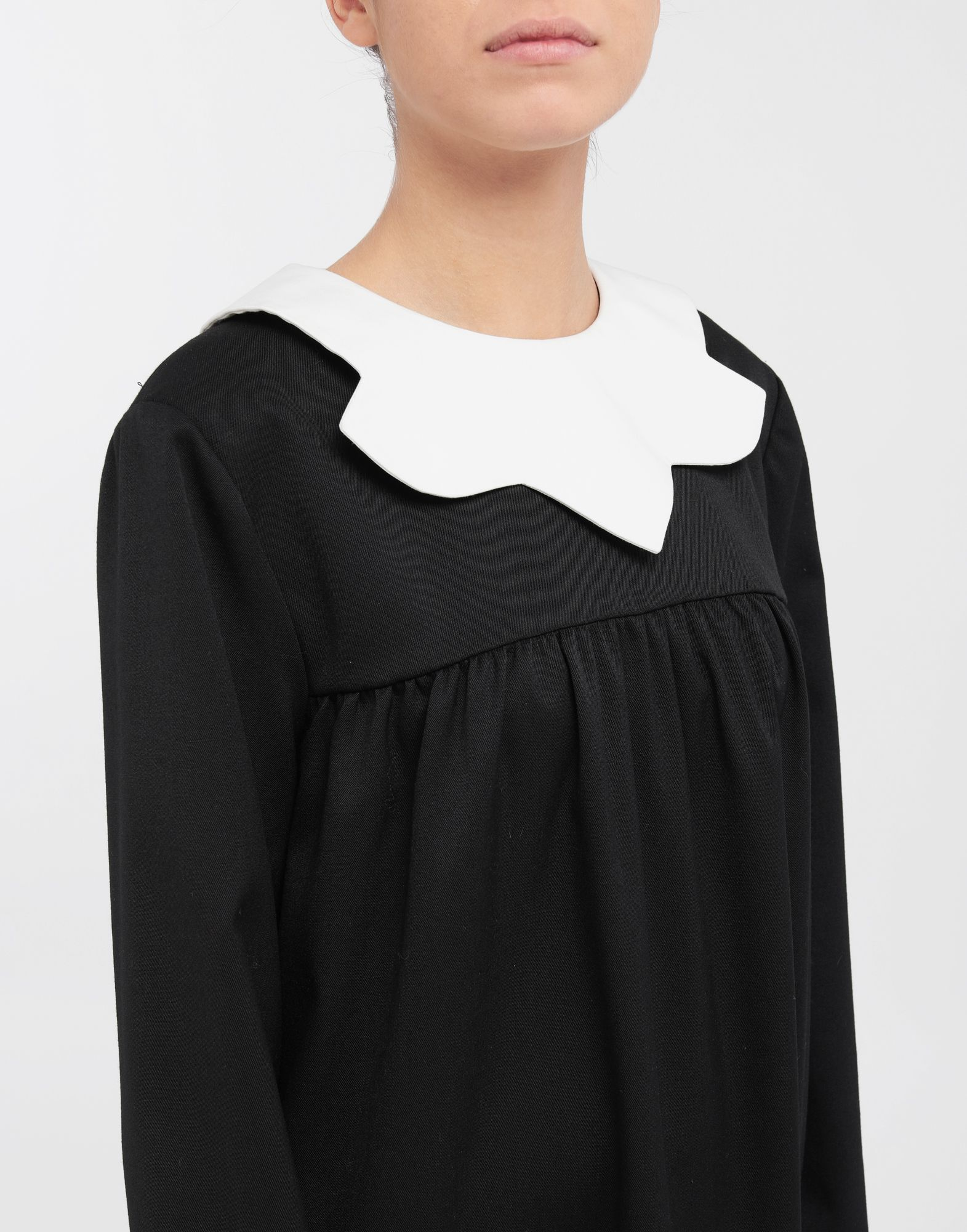 MM6 MAISON MARGIELA School uniform midi dress 3/4 length dress Woman a