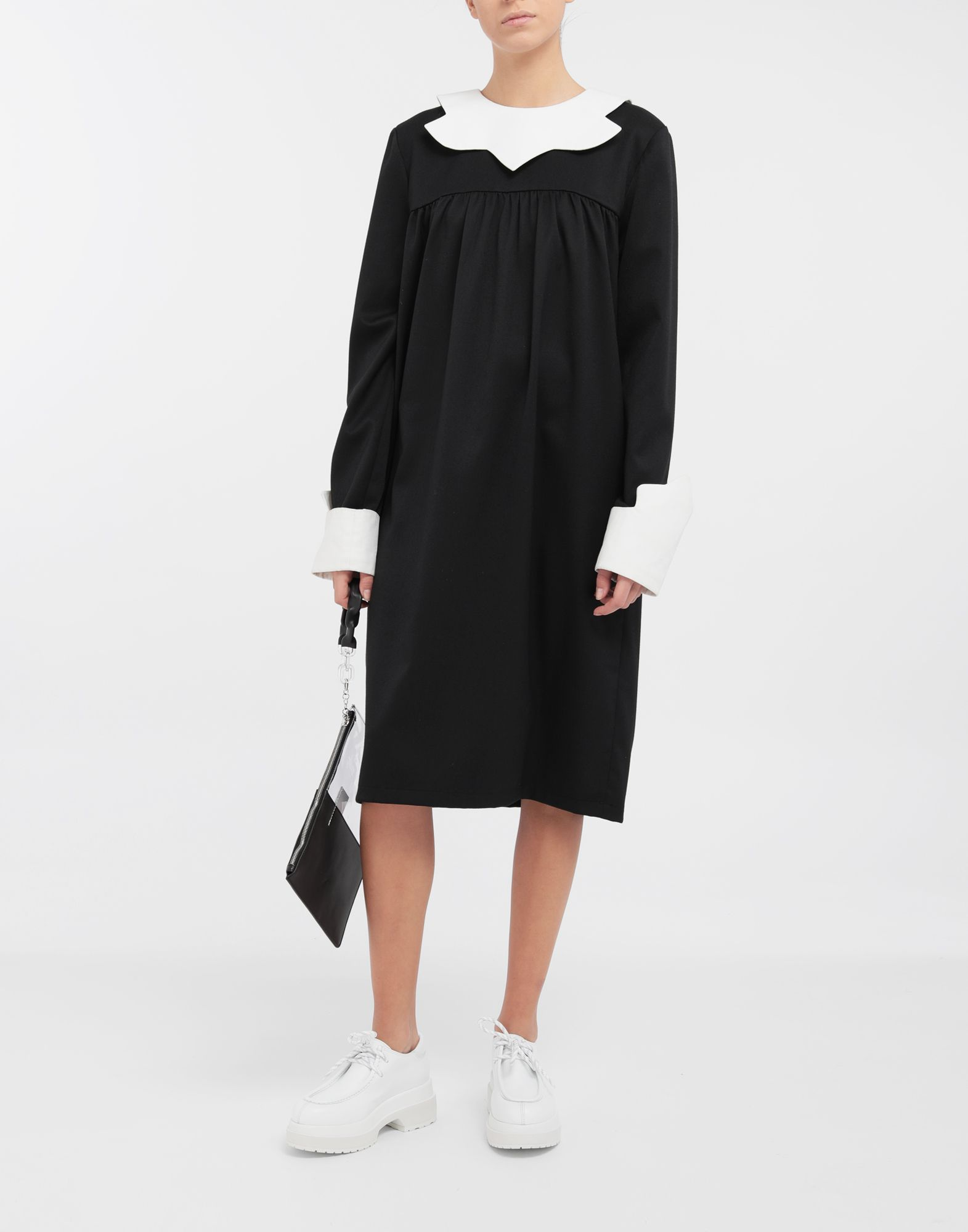 MM6 MAISON MARGIELA School uniform midi dress 3/4 length dress Woman d