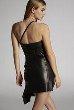 DSQUARED2 Lamb Leather Dress Short dress Woman