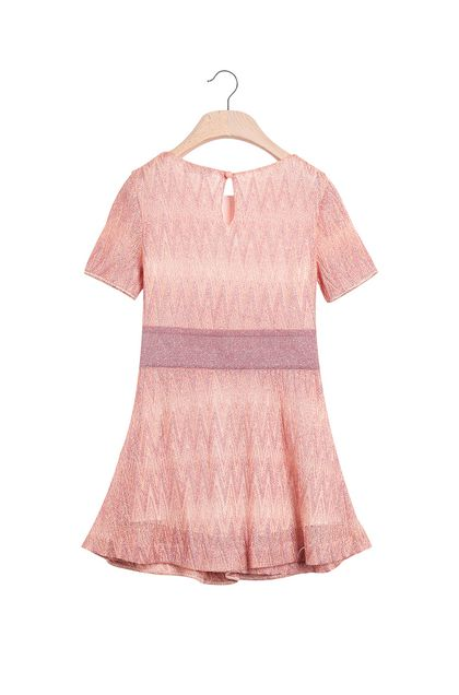 MISSONI KIDS Dress Pink Woman - Front