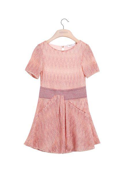 MISSONI KIDS Vestido Rosa Mujer - Parte posterior