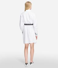 KARL LAGERFELD Shirt Dress With Logo Belt 9_f